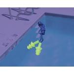 Беруши для плавания, для дайвинга, универсальные, защита для ушей, на верёвке, Leacco