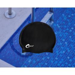 Шапочка для плавания, универсальная для взрослых из силикона CP-05