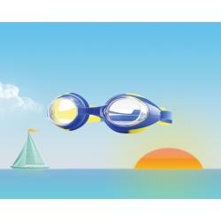Очки для плавания детские, универсальные с Anti-туманным покрытием, Leacco