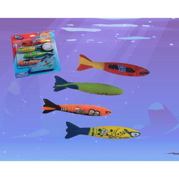 Детские игруки-рыбки для плавания в бассейне и ванной