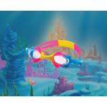 Детские очки для плвания, универсальные с Анти-туманным покрытием, Leacco