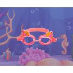 Детские очки для плавания в бассейне, универсальные с Anti-туманным покрытием, Leacco