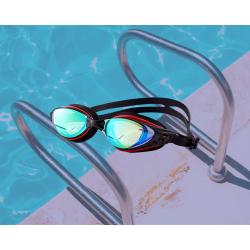 Очки для плавания, с зеркальным покрытием, универсальные с Anti-туманным покрытием, Leacco