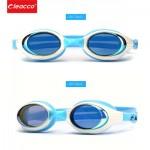 Детские очки для плавания, с зеркальным покрытием, универсальные с Anti-туманным покрытием, Leacco
