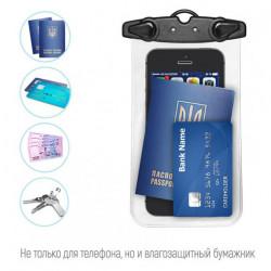 Водонепроницаемый чехол, универсальный, для телефона, денег и документов