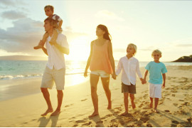 Нестандартный отдых на пляже для всей семьи